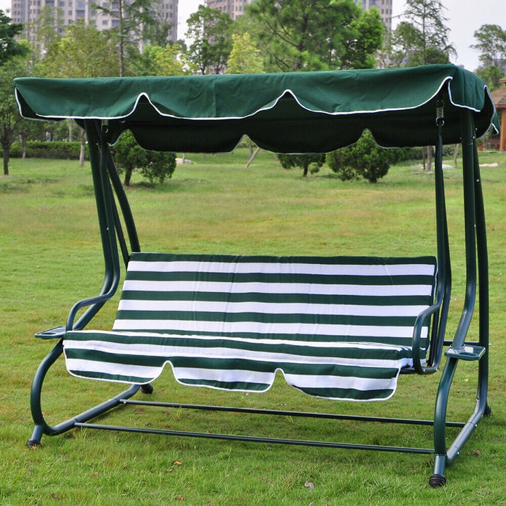 Swings Chair Awning Garden Courtyard Outdoor Swing Chair Hammock Canopy Waterproof Summer Roof Canopy Replacement Swing