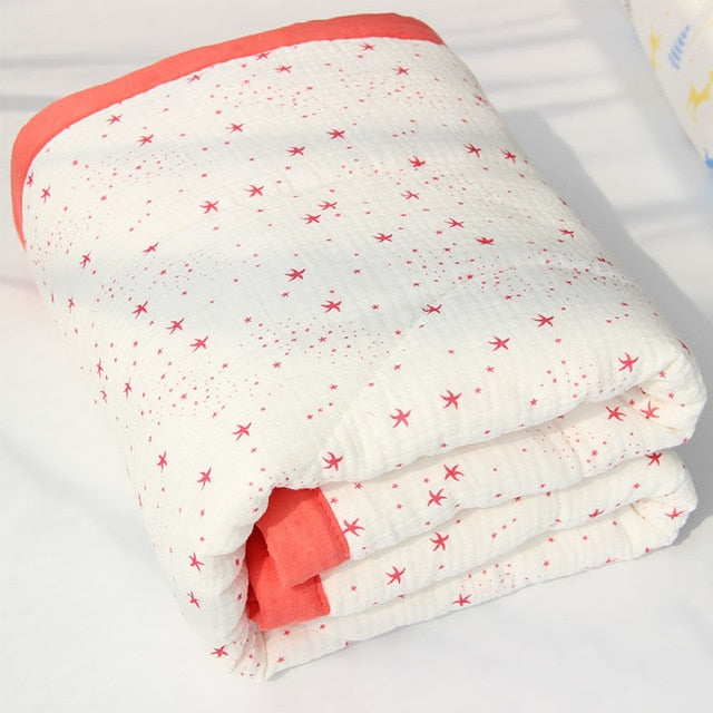 Autumn Winter Baby bedding Quilt Warm Padded Cotton Blanket Newborn Baby Blankets Kid Cotton Comfortable Blanket bed Quilt