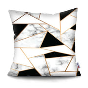 Brief Marble Geometric Cushion Cover Sofa Decorative Pillow 45*45 Pillowcase Sofa Polyester Throw Pillow Home Decor Pillowcover
