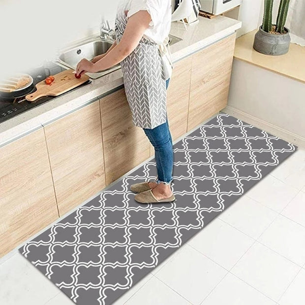 1PC Bathroom Entrance Non-slip Door Mat Printed Washable Kitchen Floor Mat Bedroom Living Room Bedside Area Rugs Modern Carpet