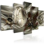 5 Pieces Modern Abstract Painting Rectangle Poster Canvas Painting Antique Wall Art Modular Pictures for Bedroom Home Decor