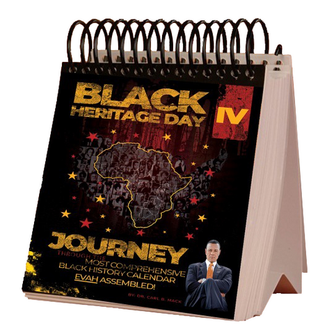 Black Heritage Day IV Desktop Calendar