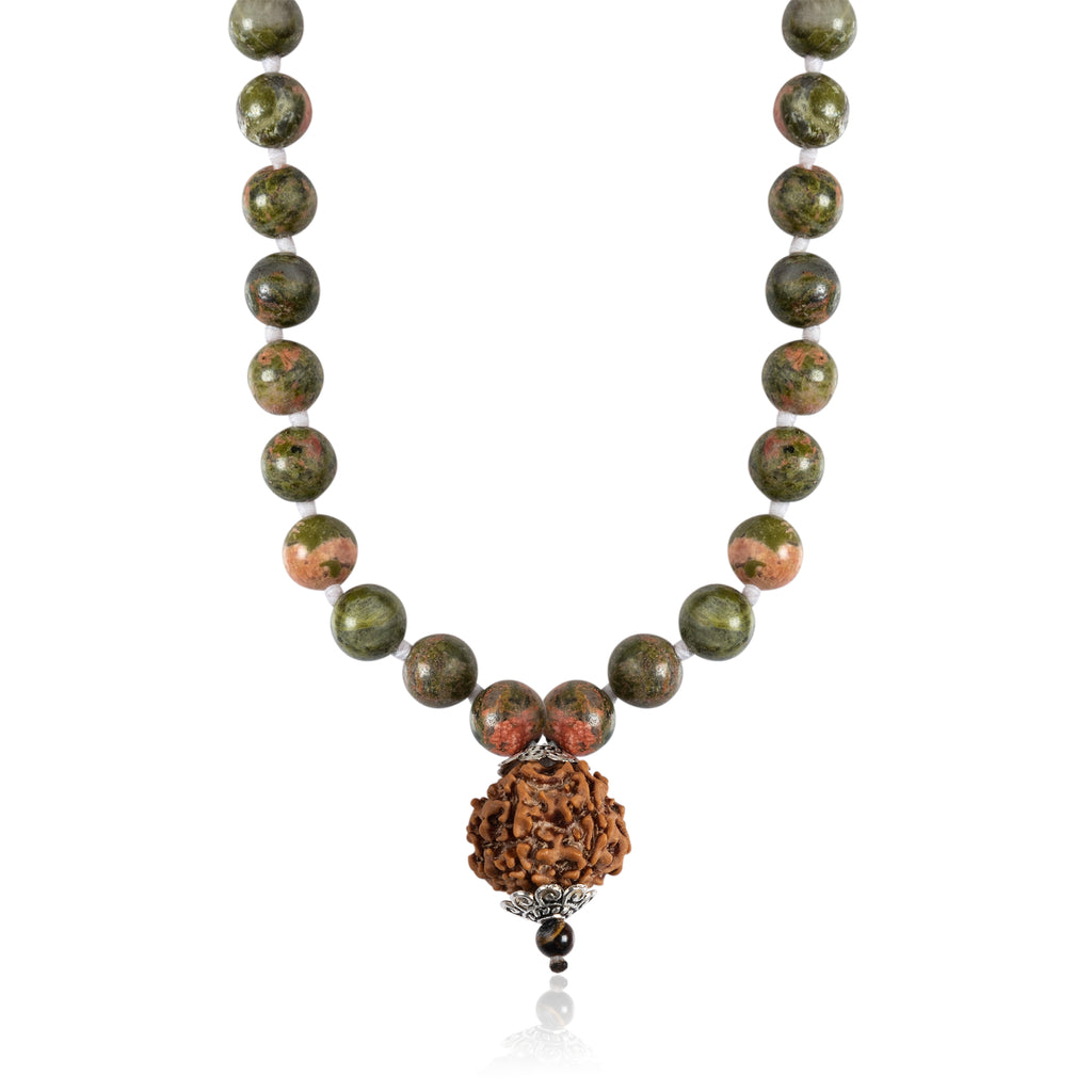 Jasper Mala Necklace