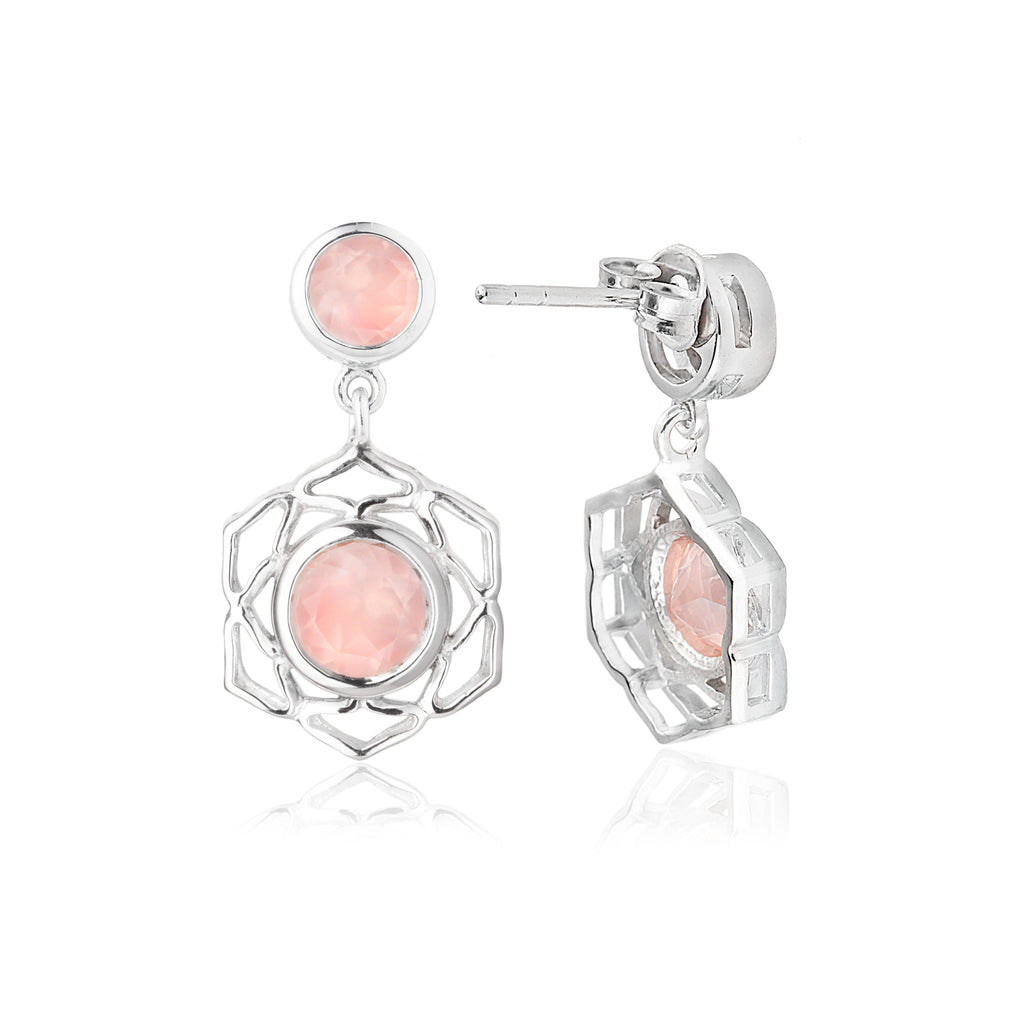 The Flower of Life Earrings