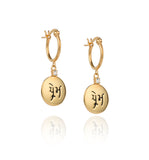 Gold Prem Earrings
