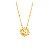 Gold Suraj Necklace