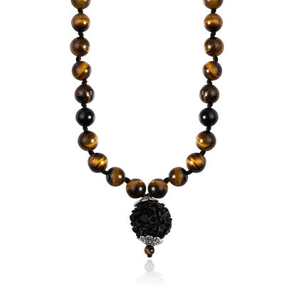 Sohavi Tiger Eye Necklace