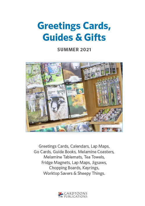 Download our Summer 2021 Greetings Cards, Guides & Gifts trade catalogue