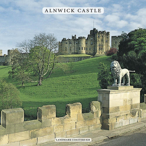 Alnwick Castle coaster - Cardtoons Publications