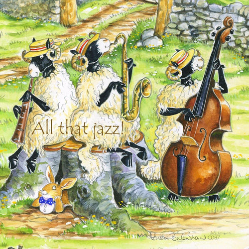 All that jazz coaster - Cardtoons Publications