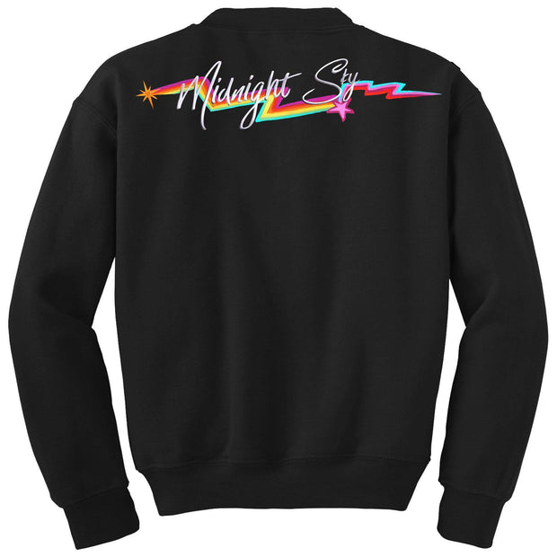 Midnight Sky Crewneck Sweatshirt-MILEY CYRUS