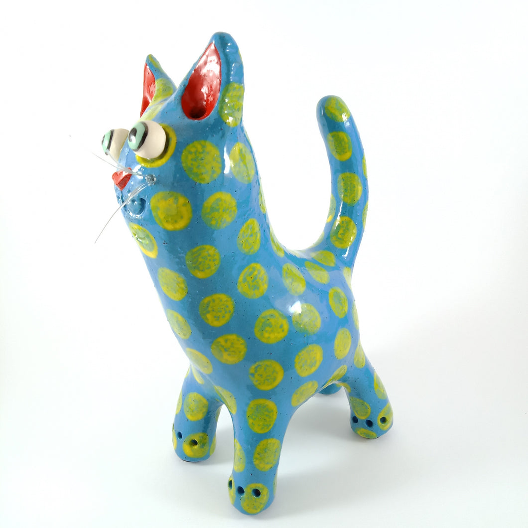 Ceramic Cat Sculpture | Elodie Barker | South Australia