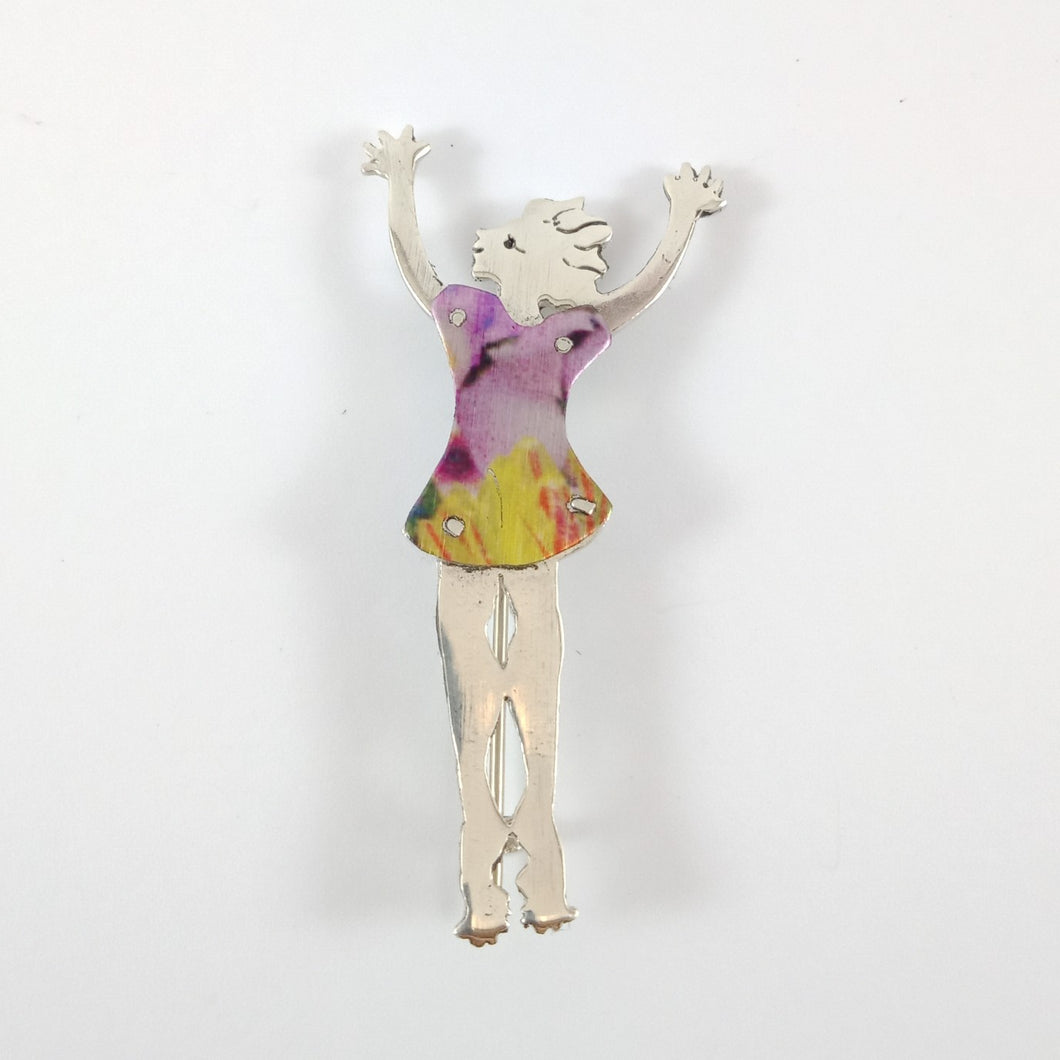 Joyous Women Brooches | Christine Pyman | South Australia