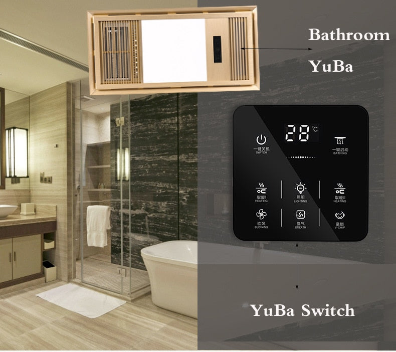 6 in 1 Universal Multifunction Smart Touch Yuba Switch Socket