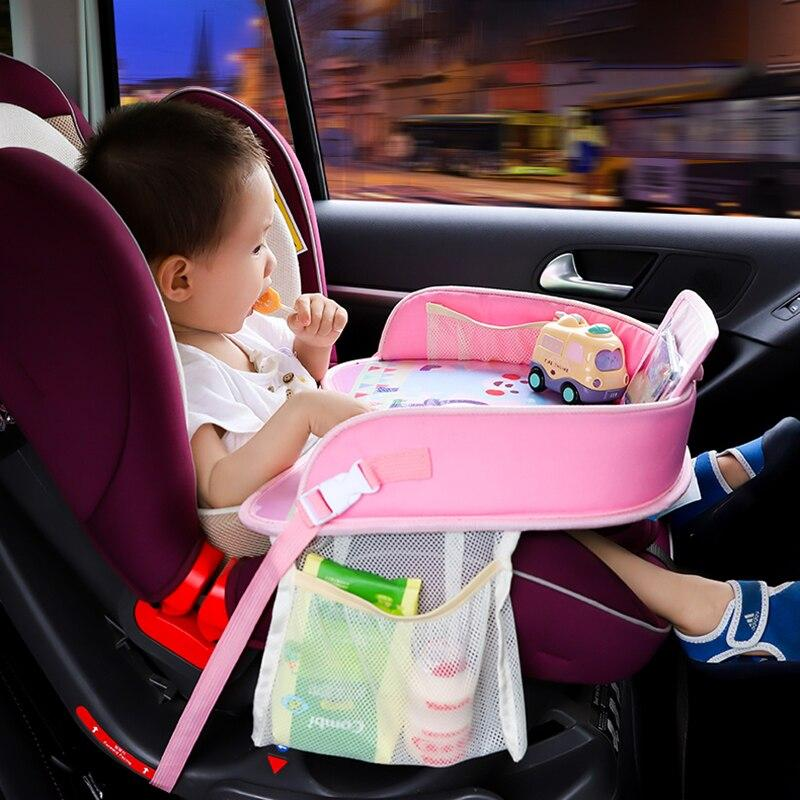Multi-function Car Safety Seat Plate Car Painting Table Baby Eating