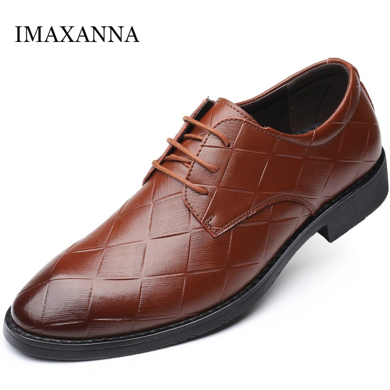 Spring Autumn New Leather Shoes Men Casual High Quality