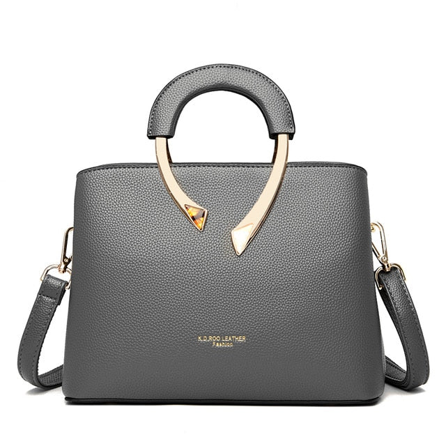 Leather Casual Crossbody Bags Luxury for Women