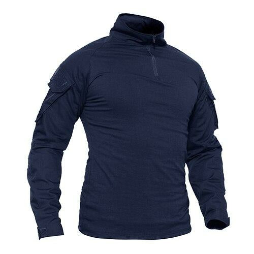 T-shirts Men Navy Military Tactical T-shirts Long Sleeve Combat Army
