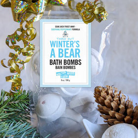 Winter's A Bear Bath Bombs, 8 oz