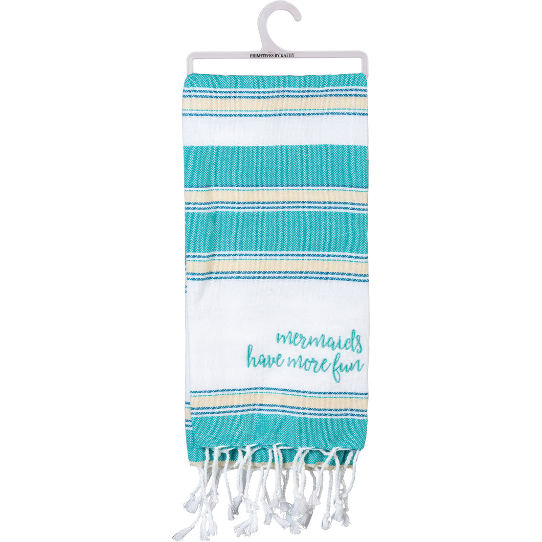 Dish Towel - Mermaids Have More Fun