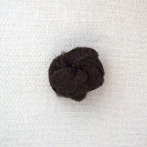 Fibre Merino 23 microns couleur Naturel Dark