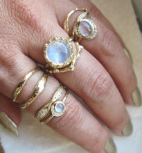 Load image into Gallery viewer, Nesting Moonstone Ring