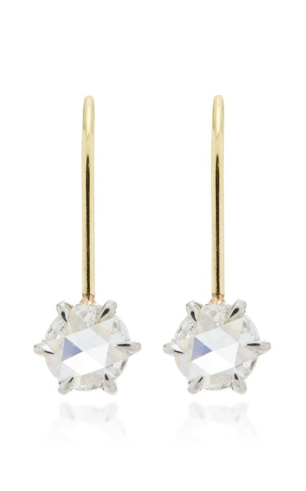 Constellation Rose Cut Diamond Earrings