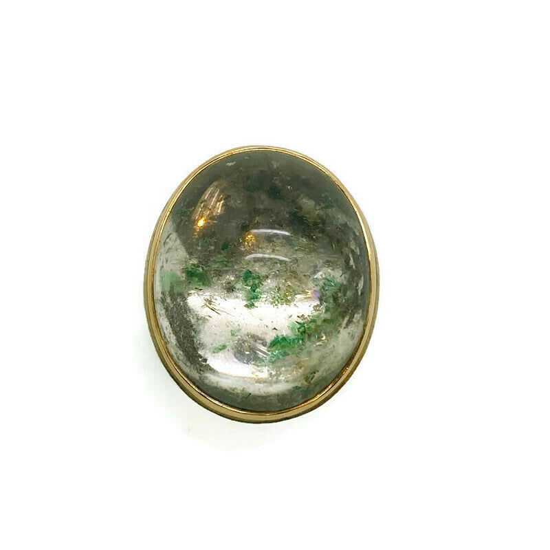Fuchsite Quartz Ring