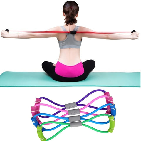 Yoga Fitness Resistance Bands