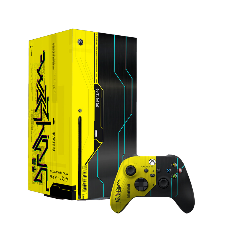 False Era Xbox Console & DualSense Controller Skin Bundle by XboxPope