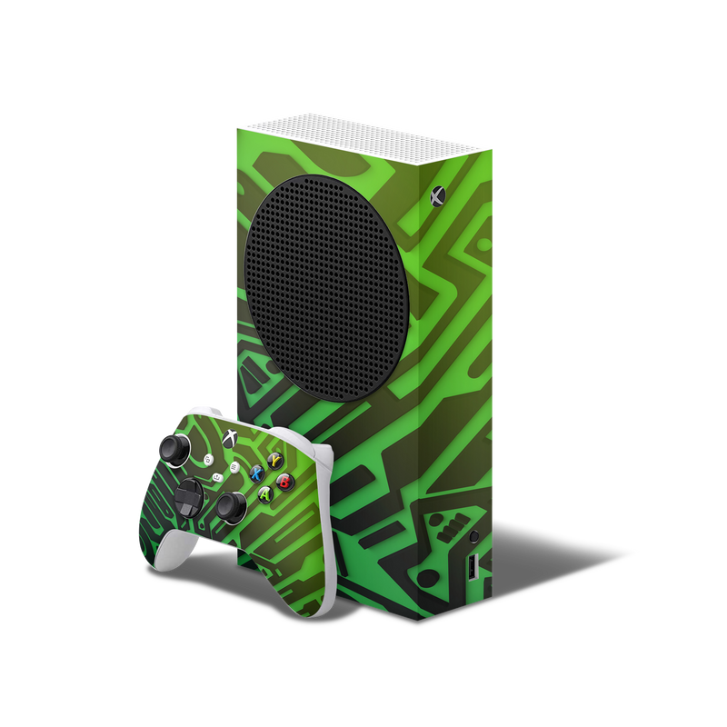 Ancient Alien Edition Xbox S Series Console & Controller Skin