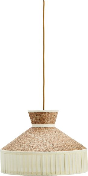 White Bungalow Bamboo Lamp