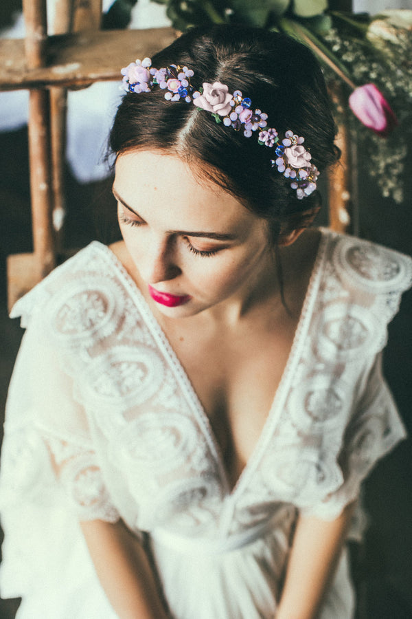 Josephine Handmade Flower Headpiece