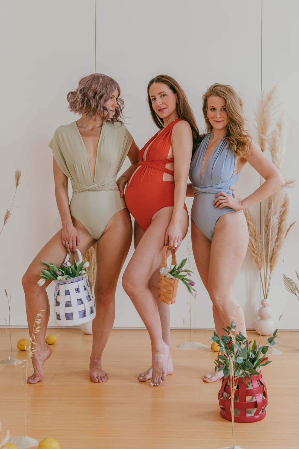 Sustainable Swimsuit Campari Soda