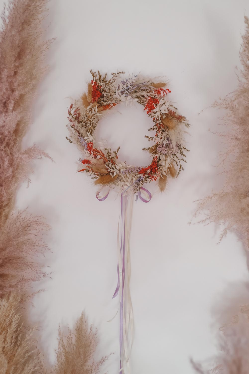 Handmade Dried Flower Hoop Arya
