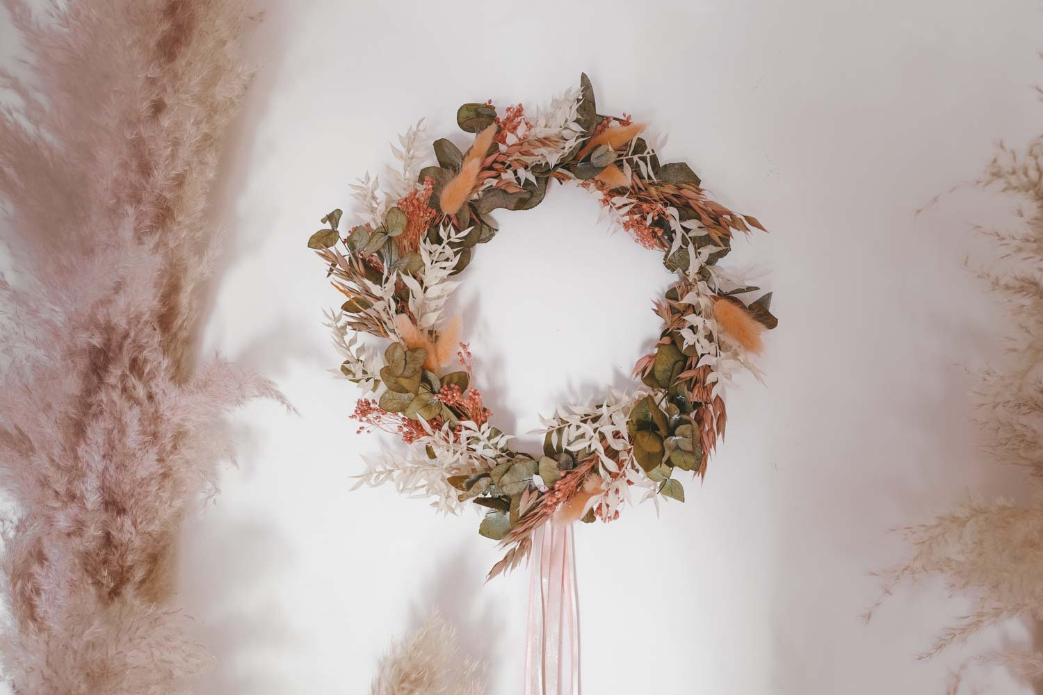 Handmade Dried Flower Hoop Cersei
