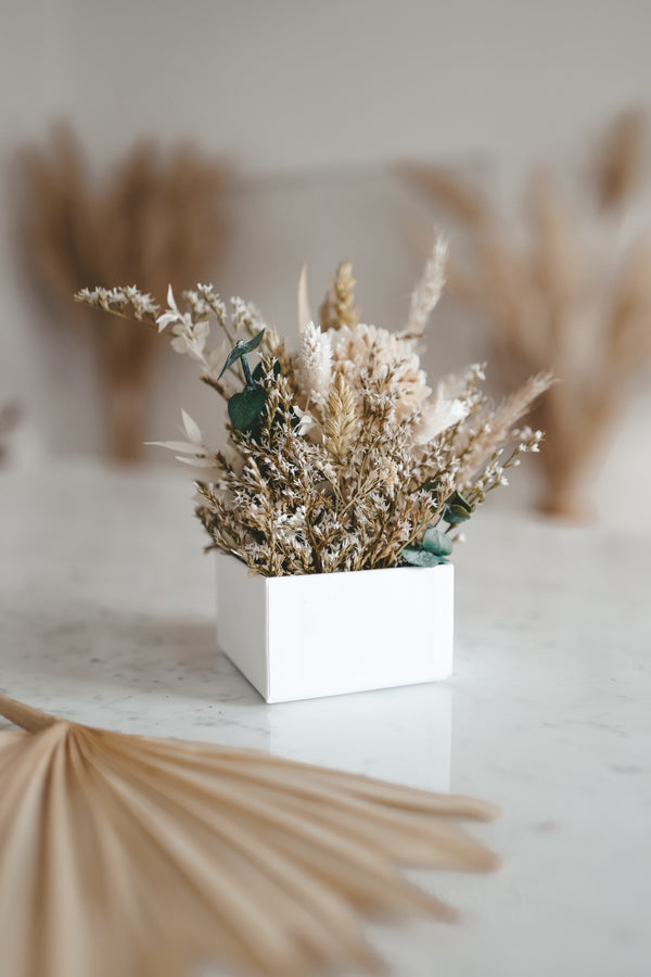 Dried Flower Box Greenery
