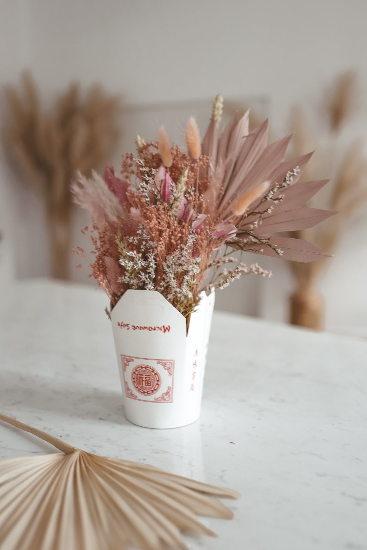 Dried Flower Noodle Box Candy Cotton