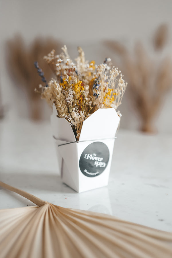Dried Flower Noodle Box Wild Life