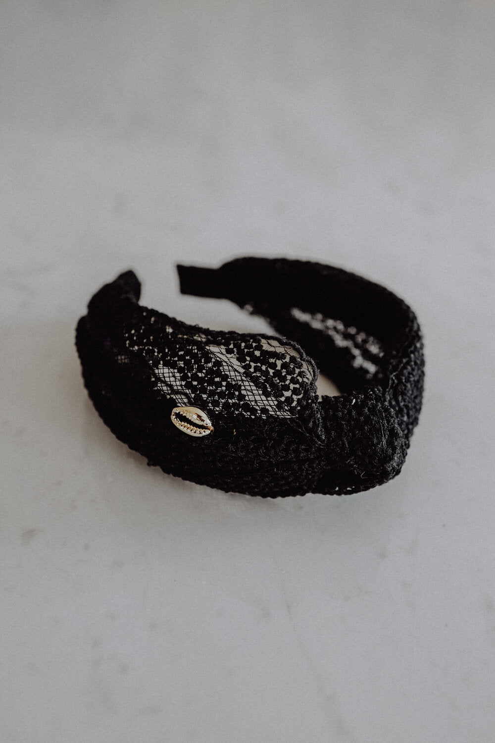 Headband Black Lace