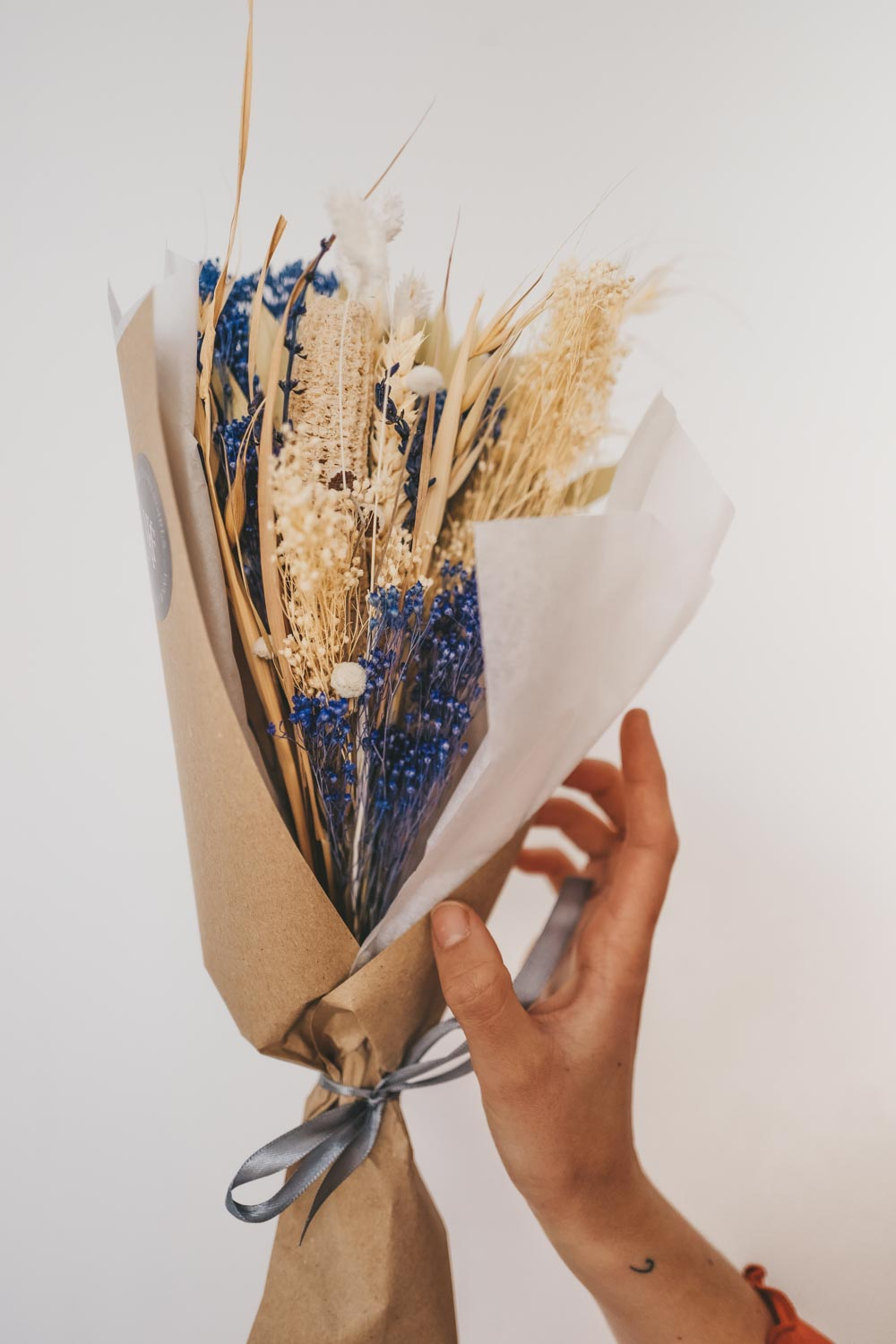 Handmade Dried Flower Bundle N21.