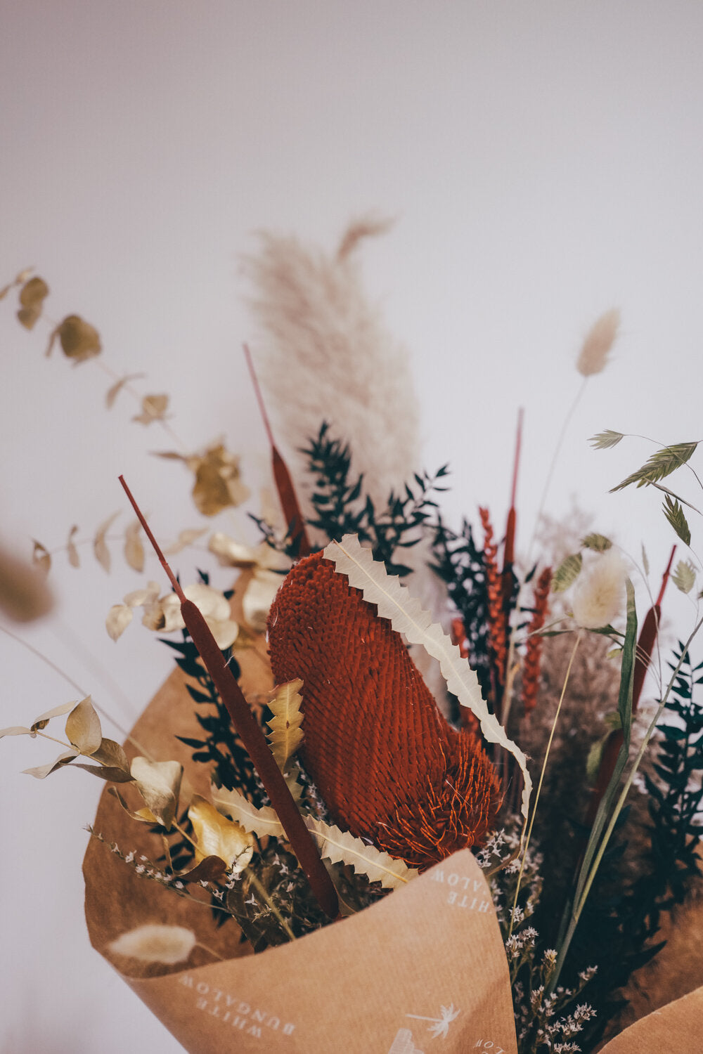 Berry Large Dried Flower Bouquet