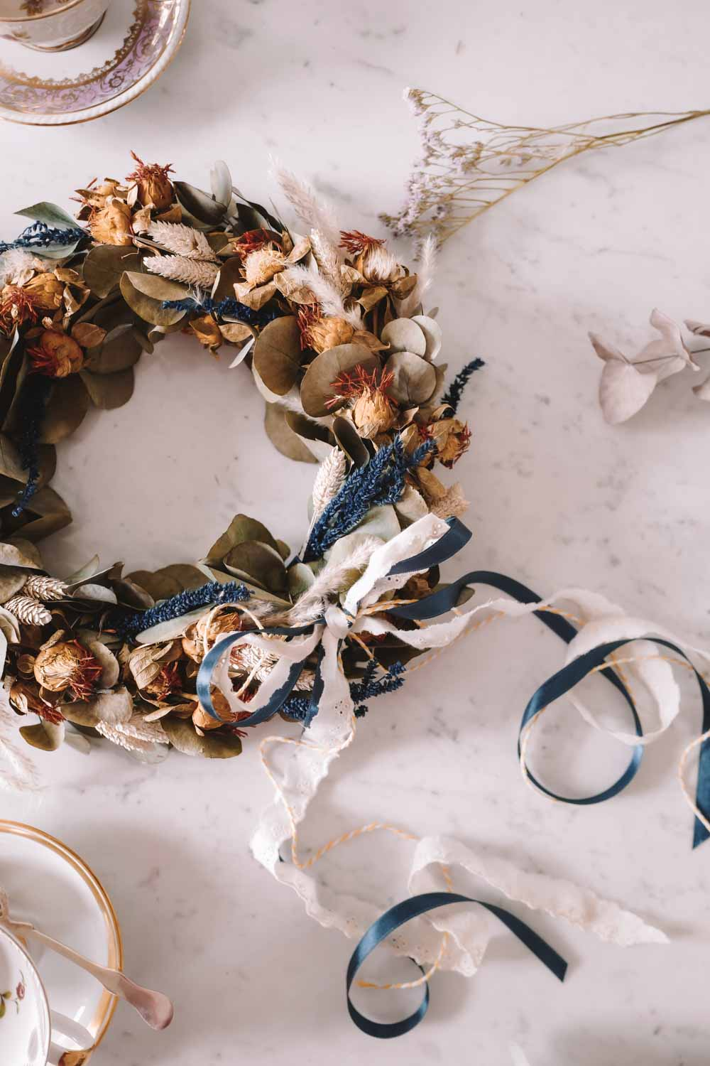 Dried Flower Wreath Aphrodite