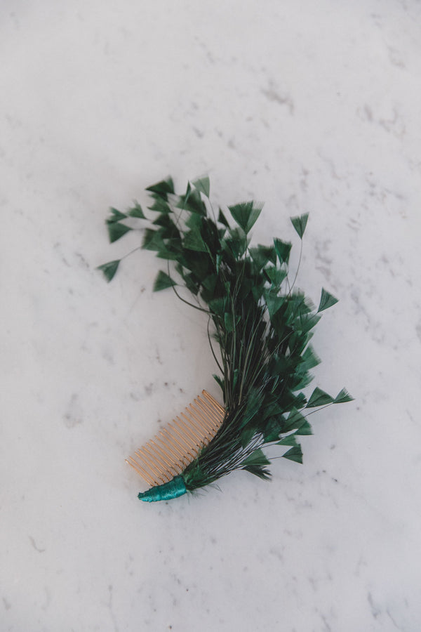 Feather Comb Greenery