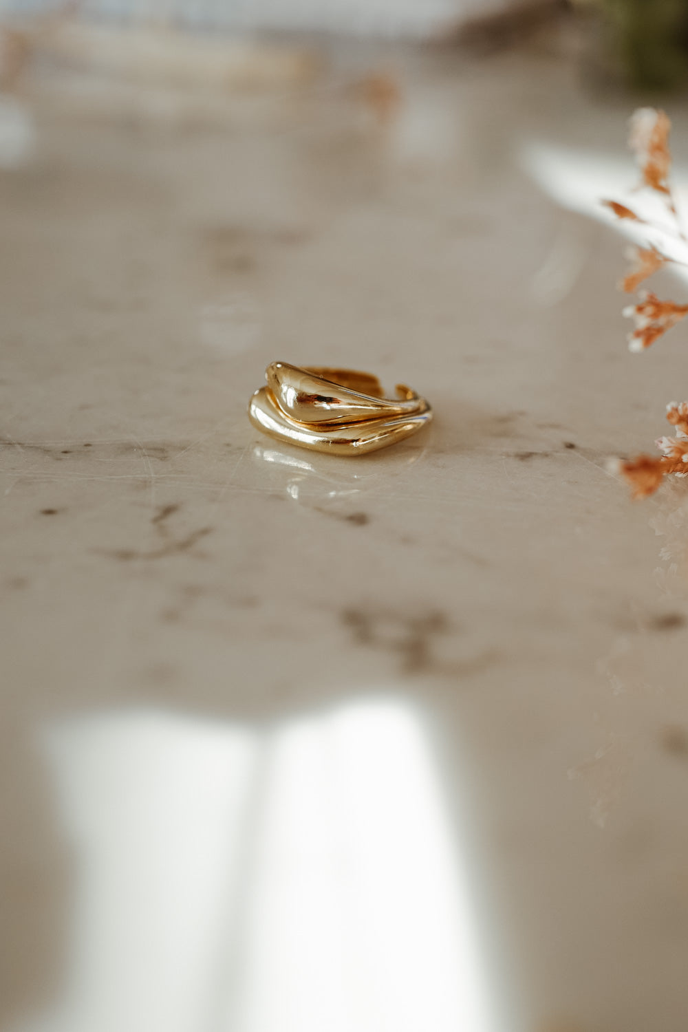 Diana 18k Gold Ring