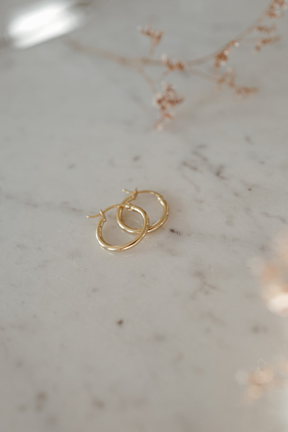Mae 18k Gold Earrings