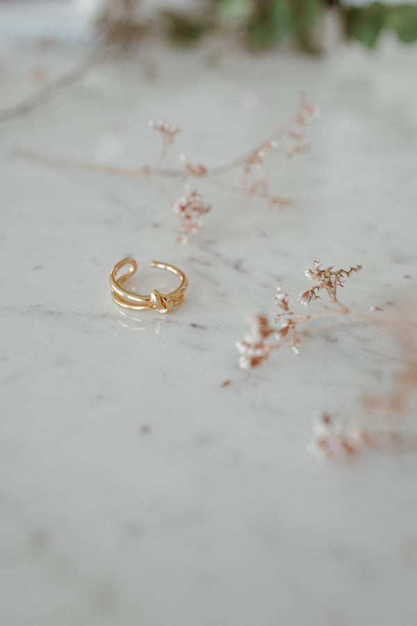 Infinity 18k Gold Ring