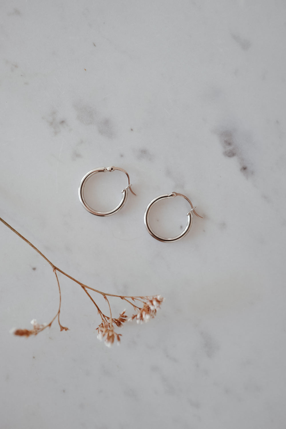 Tiny Anna Sterling Silver Earrings
