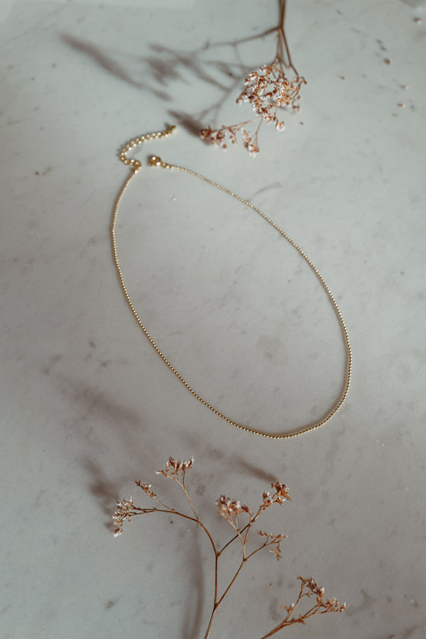 Eva 18k Gold Necklace
