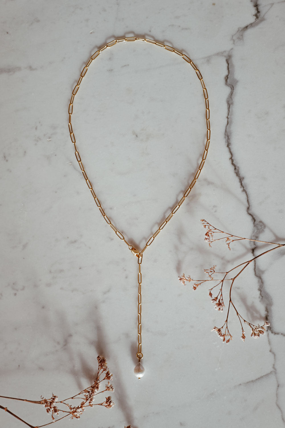 Tina 18k Gold Necklace